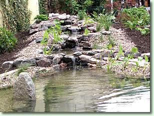 Emejing Steingarten Mit Wasserlauf Images - Amazing Home Ideas ...
